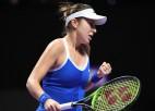 """Bārtija un Benčiča """"WTA Finals"""" debijā sasniedz pusfinālus"""
