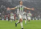 """Ronaldu pēdējo sekunžu drāmā izrauj """"Juventus"""" uzvaru pār pastarīti"""