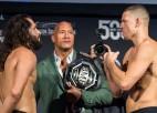Liela nakts UFC: Diazs un Masvidals tiksies <i>slikto puišu</i> divkaujā
