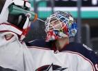 Latvieši aiz okeāna: Merzļikins spēlēs NHL lielākajā arēnā
