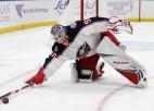 Kivlenieks atkal izsaukts uz NHL Merzļikina vietā