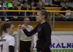Video: Rīgas Volejbola skolas dāmas ar zaudējumu uzsāk dalību Eirokausos