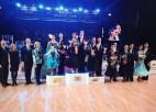 "Latvijas pāriem uzvaras ""Baltic Grand Prix'' pasaules reitinga turnīros"