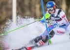 Vlhova apsteidz Šifrinu Pasaules kausa sacensībās slalomā