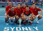 Džokovičs uzvar Nadalu, Serbija triumfē pirmajā ATP kausa izcīņā