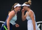 Melburnā atkal Bārtijas un Kvitovas ceturtdaļfināls, Ostapenko divas dubultspēles