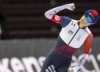 Ar Sāblikovas un Blemena uzvarām olimpiskajā Soltleiksitijā sācies PČ ātrslidošanā