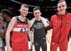 NBA publicē pārbaudes spēļu kalendāru, Bruklinā gaidāms latviešu duelis