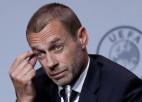 UEFA prezidents: Eirokausu sezona jāpabeidz līdz 3. augustam