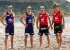Pēc neplānotās pauzes atsāksies EČ pludmales volejbolā, ne vairs Jūrmalā
