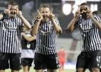 """PAOK no Čempionu līgas negaidīti izslēdz """"Benfica"""", tālāk soļo arī Kijeva un Ģente"""