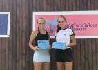 Semeņistaja otro nedēļu pēc kārtas uzvar ITF dubultspēļu turnīrā Tunisijā