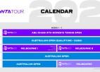 WTA sezona sāksies ar jaunu turnīru Abū Dabī
