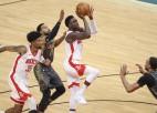 "Kurucs rezervē, Oladipo debitē ar 32+9, ""Lakers"" izsēj +19 pret ""Warriors"""