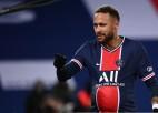 Neimārs 100. spēlē Parīzes klubā iesit 81. vārtus, PSG vairākumā grauj ar 4:0