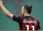 """""""Milan"""" un """"Lazio"""" uzvaras, Zlatanam 500. vārti klubu karjerā"""