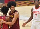 """""""Rockets"""" kārtējais zaudējums, Rietumu līdere """"Jazz"""" sagrauj """"Lakers"""""""