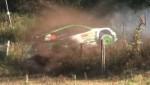 Video: Latvijas rallija čempions Rovanpera Vācijas WRC treniņos izlido no trases