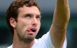 Foto: Gulbis veiksmgi sk Vimbldonu