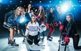 Foto: Dāmas gozējas Sieviešu hokeja līgas kalendārā