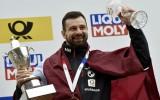 Foto: Martins Dukurs piekto reizi iegūst pasaules čempiona titulu
