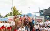 """Foto: Rīgas """"Ergo Open"""" uzvar Graudiņa/Kravčenoka un Pļaviņš/Regža"""