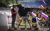 Foto: <i>Trakie</i> itāļu fani Trentino uzņem MXGP pasaules čempionātu