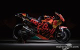 """Foto: """"KTM"""" prezentē savu pirmo MotoGP motociklu"""