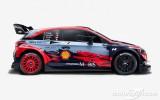 """Foto: Jaunos WRC spēkratus atrāda """"Toyota"""" un """"Hyundai"""" komandas"""