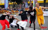 """Foto: """"Ghetto Games"""" festivālā Ventspilī labākā """"Slam Dunk"""" meistara titulu iegūst ukrainis Krivenko"""