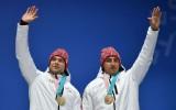 Foto: Melbārdis un Strenga apbalvoti ar olimpiskajām bronzas medaļām