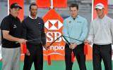 """Foto: Golferi Šanhajā gatavojas """"HSBC Championship"""" turnīram"""