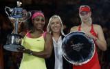 """Foto: Viljamsa Austrālijā izcīna 19. """"Grand Slam"""" titulu"""