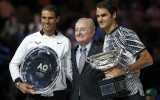 """Foto: Federera un Nadala tenisa klasika """"Australian Open"""" finālā"""