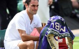 Foto: Federera astotais Vimbldonas triumfs