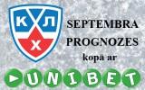 """Konkurss: """"KHL septembra prognozes kopā ar Unibet.com"""""""