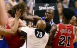 Video: NBA kautiņš - Lopess pret Ibaku