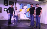 Video: Usika dzimšanas dienā mākslinieks dažās minūtēs sarūpē dāvanu