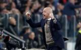 """Ten Hāgs: """"Gan """"Juventus"""", gan """"Real"""" bija nobijušās no mums"""""""
