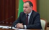 """Baltkrievijas premjers: """"Baltkrievija arī viena var sarīkot pasaules čempionātu"""""""