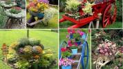 Foto: Ķerra kā dārza dekors 30 burvīgās fotogrāfijās
