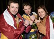 Rozītis, Cauce un brāļi Šici - Latvijas čempioni kamaniņu sportā