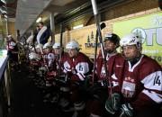 Latvijas U-18 nomētā, taču zaudē arī dāņiem