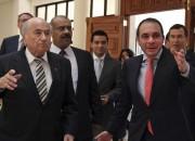 Blaters vai princis Ali - futbola pasaule šodien izvēlas prezidentu