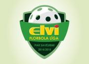 Spēlēt ELVI florbola līgā uzaicinātas 12 vīriešu un 5 sieviešu komandas