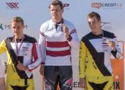 Veide pēc gada pārtraukuma atgūst Latvijas elites čempiona titulu BMX