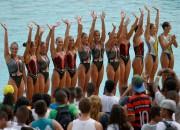 Rio olimpiskajos ūdeņos inficējas atlēti