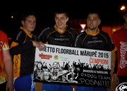 "''OXDOG team/Posantre'' uzvar Mārupes ""Ghetto Floorball"" un brauks uz Barselonu"