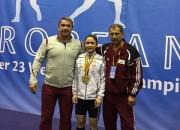 Svarcēlāja Rebeka Koha triumfē U-20 Eiropas čempionātā