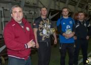 """RFC """"Livonia"""" aizvada treniņus izlases vadītāja Lisko vadībā"""